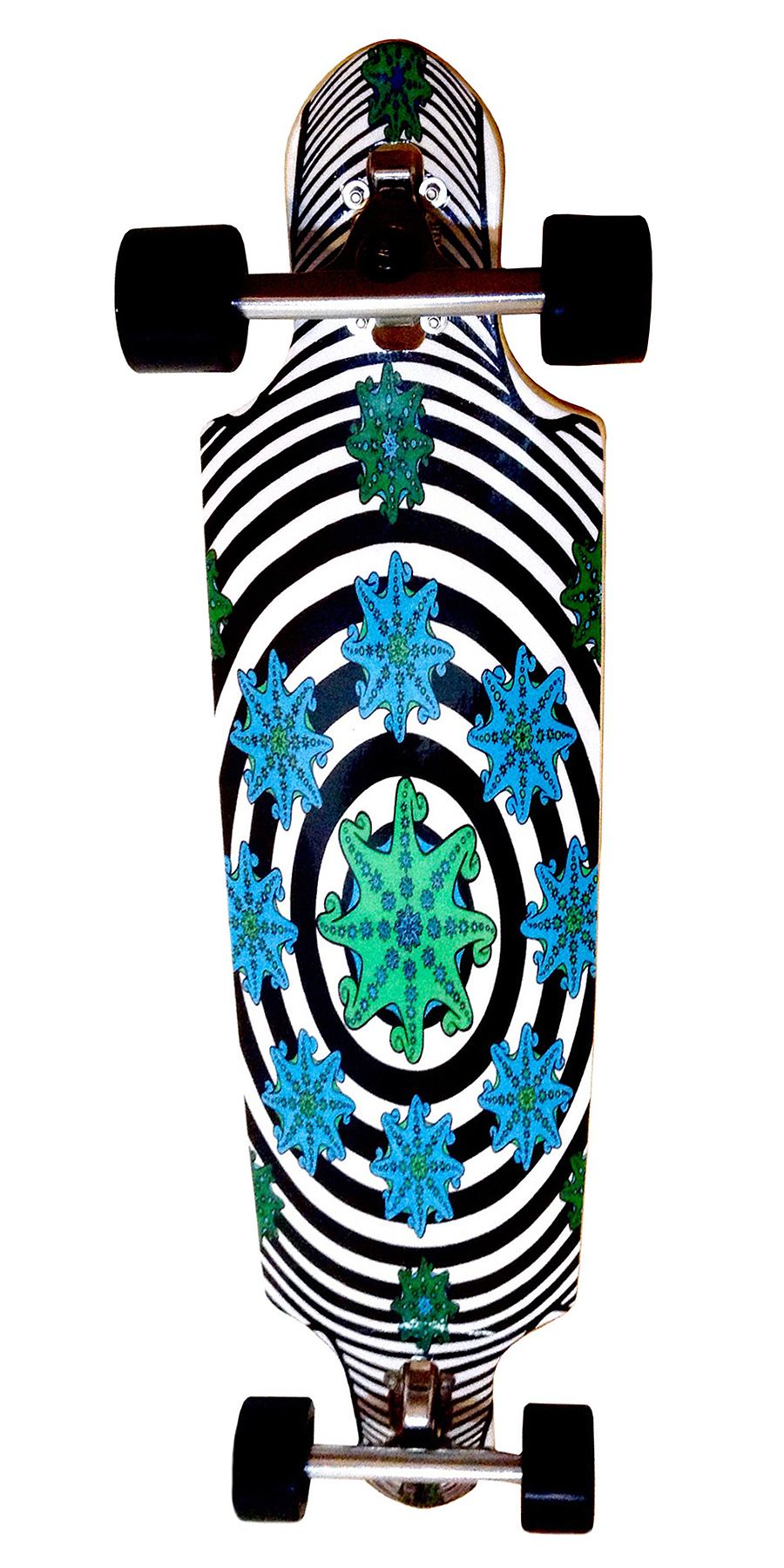 Laura Finke Illustration – Longboard: Fractal Octopus
