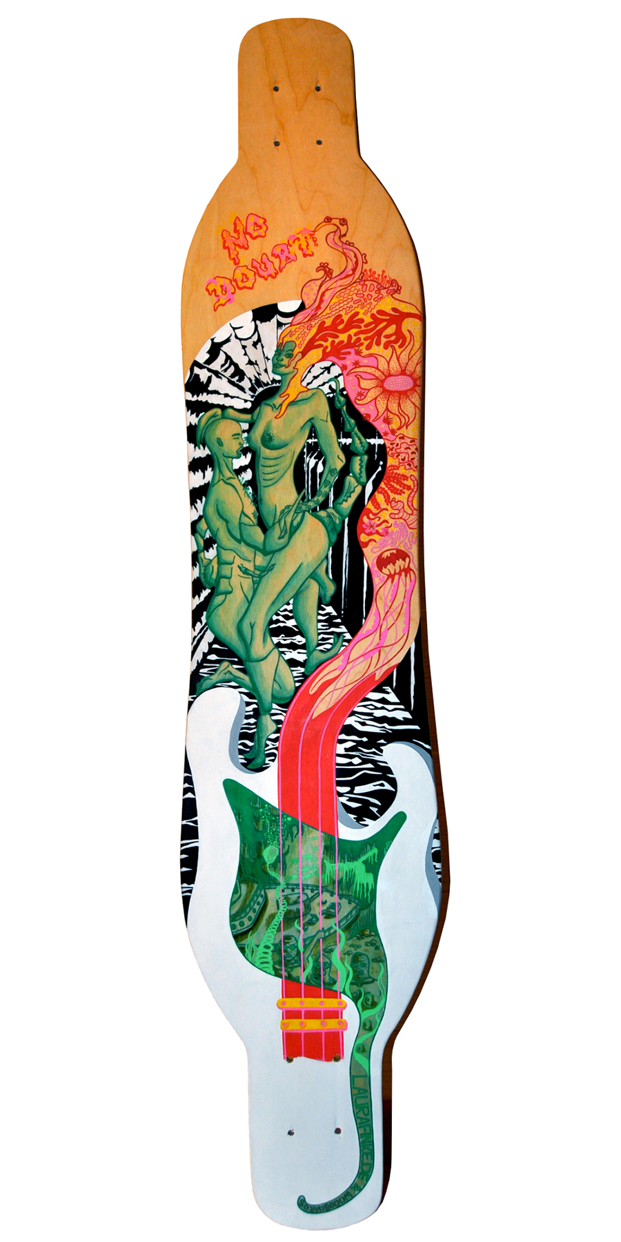Laura Finke Illustration – Longboard: No Doubt