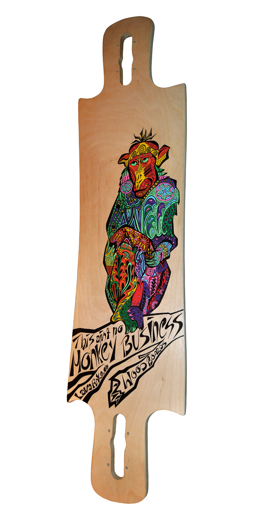 Laura Finke Illustration – Longboard: This Ain't No Monkey Business