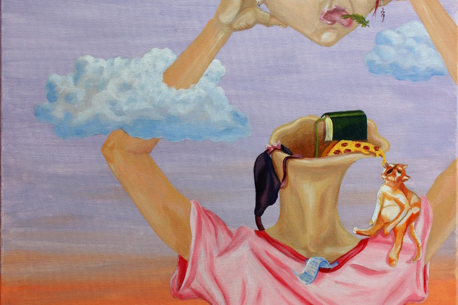Laura Finke Illustration – She's Got Her Head In The Clouds
