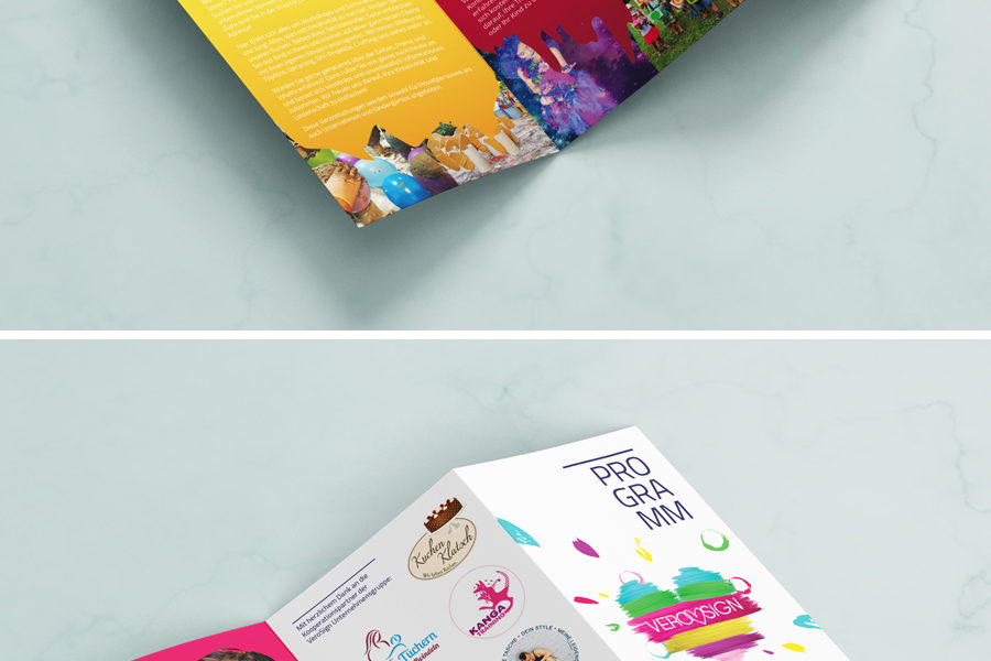 Laura Finke Media Design – Flyer VeroSign