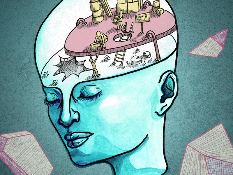 Laura Finke Illustration – Concussion I